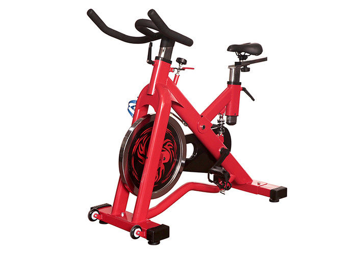 Indoor Exercise Gym Spin Bike , Commercial Cardio Spinning Exercise Machine